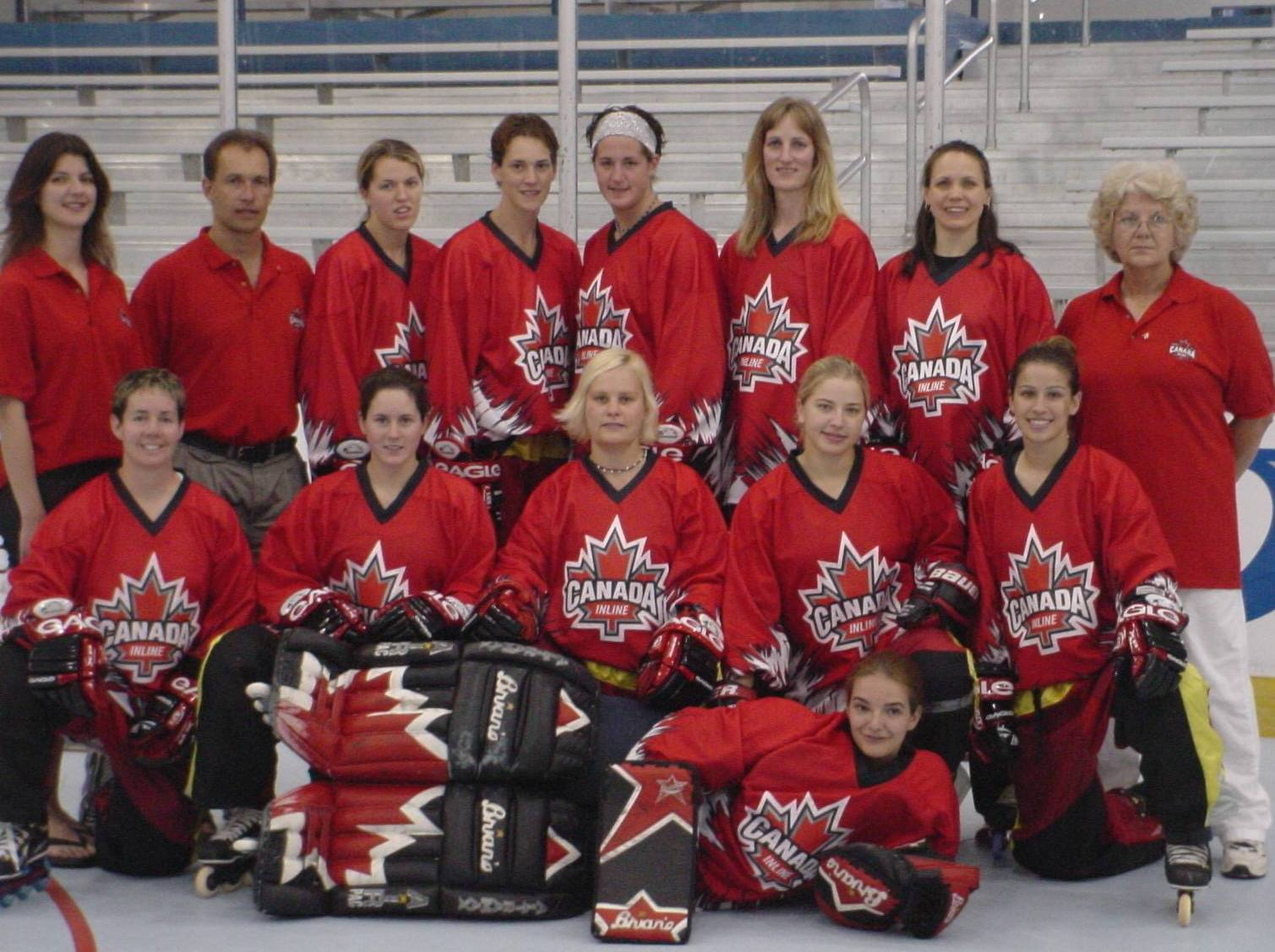 211da97bcb0 And here are a couple from the 2002 Women s World Inline Hockey  Championship.